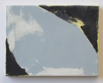 "Ian White Williams, Mono Syllabic, 2012, 10""x13"", oil on linen"